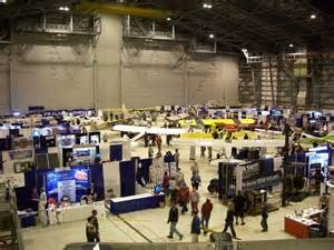 trade expositions hall