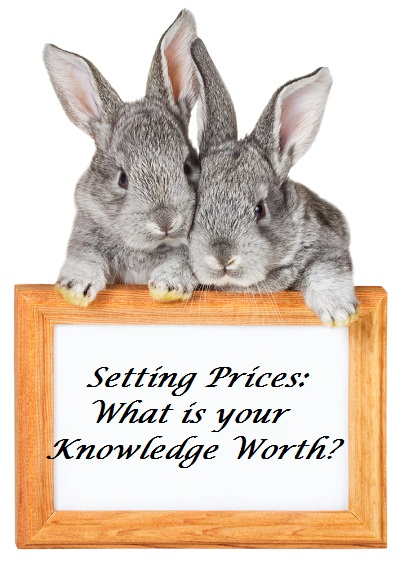 Setting Prices : What is Your Knowledge Worth?